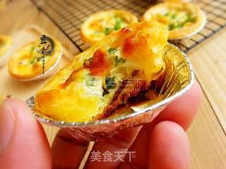 海鲜蛋挞的做法_#ACA烘焙明星大赛#海鲜蛋挞_海鲜蛋挞怎么做_豆帝煮Man的菜谱