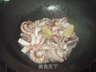 茄汁鱿鱼四季豆的做法_茄汁章鱼四季豆_茄汁鱿鱼四季豆怎么做_菜谱