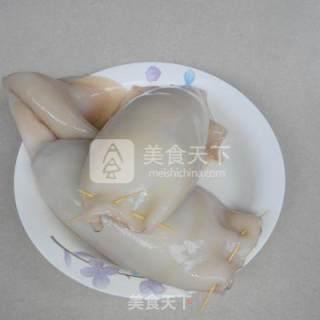 糯米酿鱿鱼的做法_糯米酿鱿鱼怎么做_末影的菜谱