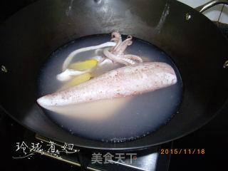 五彩酿鱿鱼的做法_五彩酿鱿鱼怎么做_玲珑煮妇的菜谱