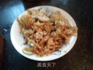 鱿鱼白菜肉丝的做法_鱿鱼白菜肉丝怎么做_水青青的菜谱