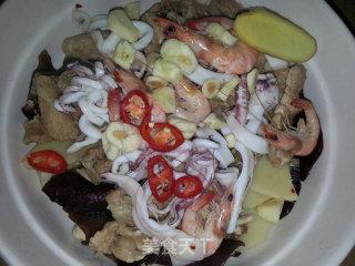 水煮海鲜肉片的做法_水煮海鲜肉片怎么做_豆帝煮Man的菜谱
