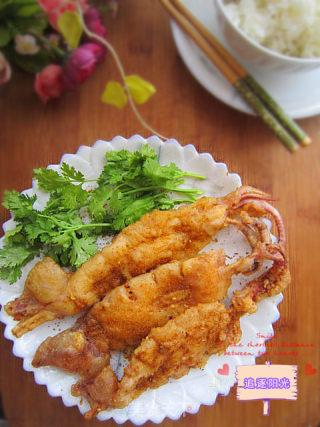 酥炸鱿鱼的做法_酥炸鱿鱼怎么做_追逐阳光的菜谱