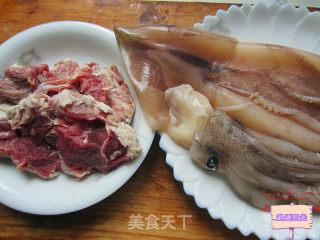 牛肉酿鱿鱼的做法_牛肉酿鱿鱼怎么做_追逐阳光的菜谱