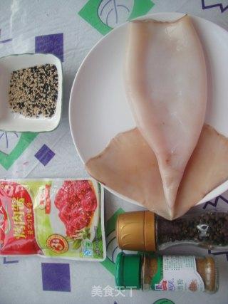 酱烤鱿鱼的做法_酱烤鱿鱼怎么做_菜谱