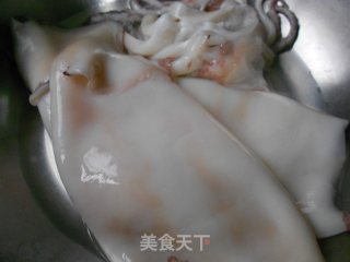 浇汁鱿鱼的做法_浇汁鱿鱼怎么做_菜谱