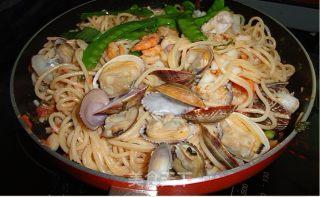 海鲜意大利面的做法_海鲜意大利面怎么做_菜谱