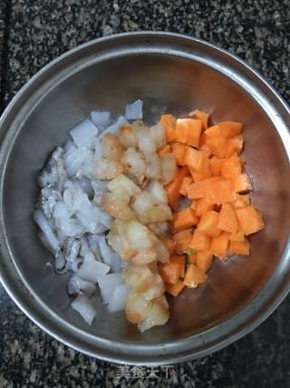 炒海鲜味地瓜粉的做法_炒海鲜味地瓜粉怎么做_荣荣仔的菜谱