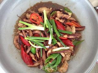 干锅鱿鱼须的做法_干锅鱿鱼须怎么做_liuping614的菜谱