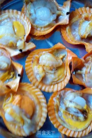 蒸扇贝的做法_扇贝,鲜而不腥的方法_蒸扇贝怎么做_猫咪家的店的菜谱