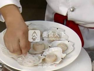 蒜蓉粉丝扇贝的做法_桃李厨艺——教你做海鲜美味——蒜蓉粉丝扇贝_蒜蓉粉丝扇贝怎么做_桃李烹饪的菜谱