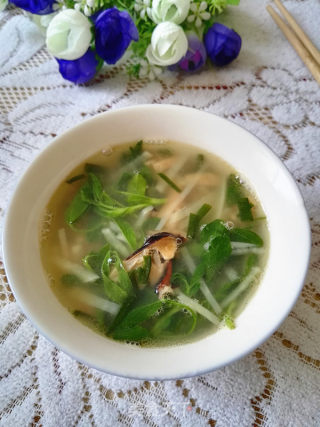 淡菜苜蓿汤的做法_淡菜苜蓿汤怎么做_冬季心情的菜谱