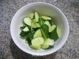 青瓜拌淡菜的做法_青瓜拌淡菜怎么做_花鱼儿的菜谱