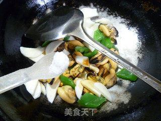 灯椒茭白炒淡菜的做法_灯椒茭白炒淡菜怎么做_花鱼儿的菜谱