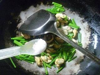 韭菜花炒淡菜的做法_韭菜花炒淡菜怎么做_花鱼儿的菜谱