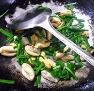 韭菜炒淡菜的做法_韭菜炒淡菜怎么做_花鱼儿的菜谱