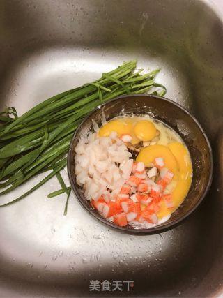 红薯粉煎饼和蛋花汤的做法_红薯粉煎饼、蛋花汤_红薯粉煎饼和蛋花汤怎么做_Timgao的菜谱