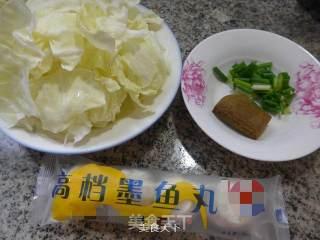 咖喱墨鱼丸圆白菜的做法_咖喱墨鱼丸圆白菜怎么做_花鱼儿的菜谱