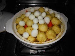 咖喱鱼蛋的做法_咖喱鱼蛋怎么做