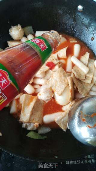 韩式辣炒年糕的做法_韩式辣炒年糕怎么做_步行到罗马的菜谱