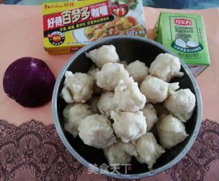 咖喱鱼丸的做法_咖喱鱼丸怎么做_Yeda的菜谱