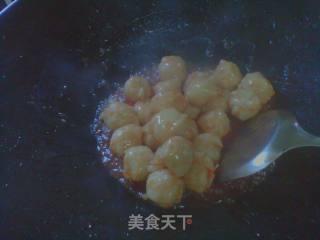 酸甜墨鱼丸的做法_酸甜墨鱼丸怎么做_狗麻的菜谱