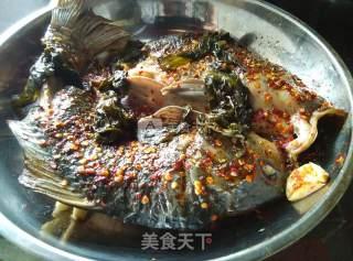酸菜烤鱼的做法_#ACA烘焙明星大赛#【酸菜烤鱼】电烤箱_酸菜烤鱼怎么做_人生就是过客的菜谱