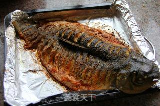 香辣烤鱼的做法_香辣烤鱼怎么做_格蓝蓝的菜谱